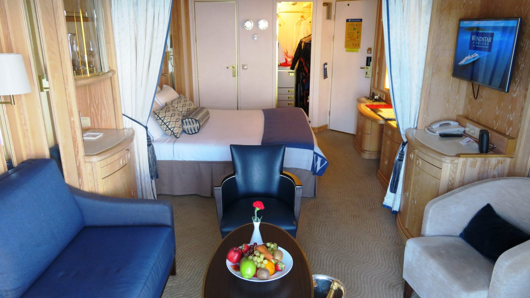 Windstar Cruises Star Legend ~ Balcony Suite stateroom