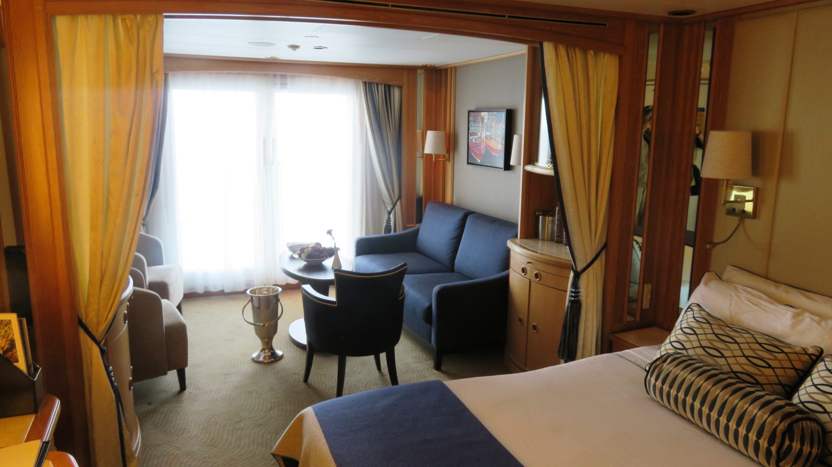 Windstar Cruises ~ the ideal cabin reflecting Windstar's attention to detail and comfort