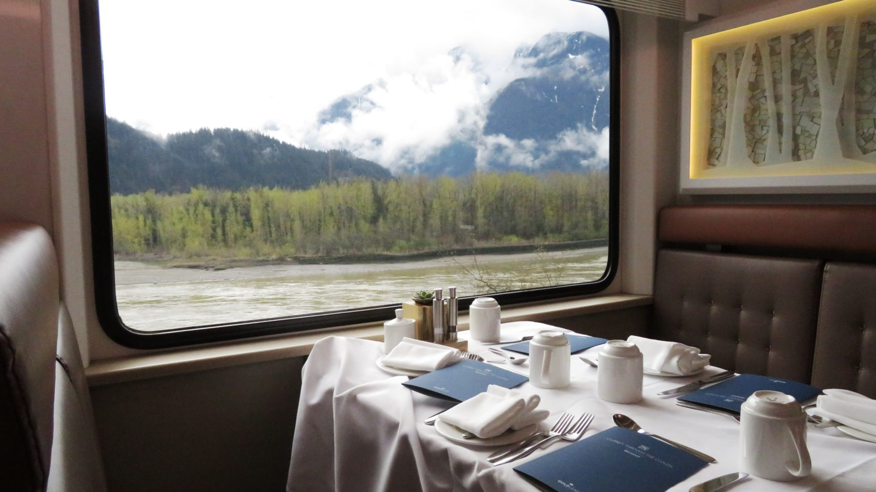Dining with a view ! Rocky Mountaineer ~ The Trip of a Lifetime ...