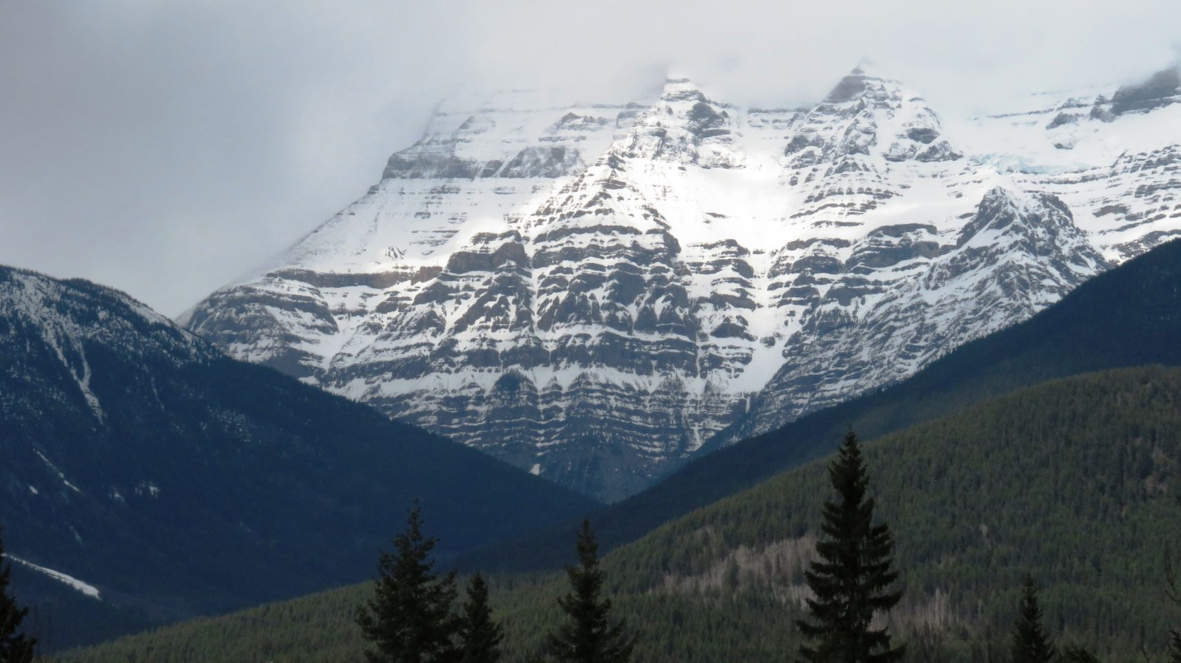In the shadow of Mount Robson in the Canadian Rockies! Rocky Mountaineer ~ The Trip of a Lifetime ...