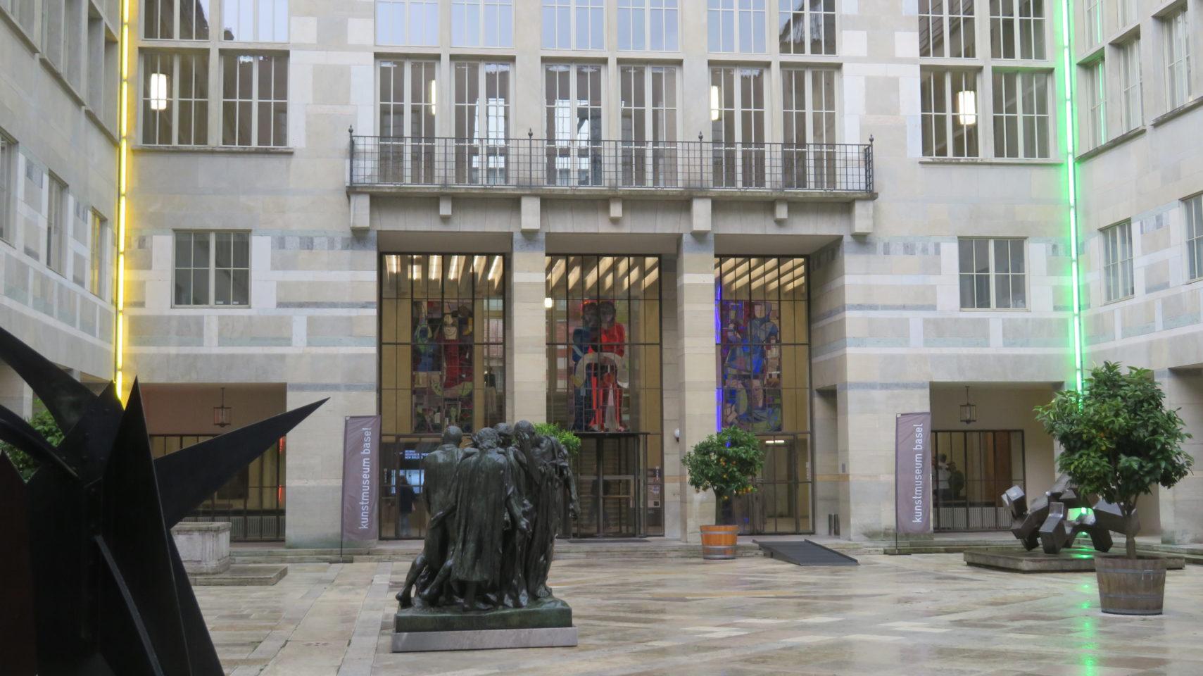World-famous KunstMuseum in Basel, Switzerland