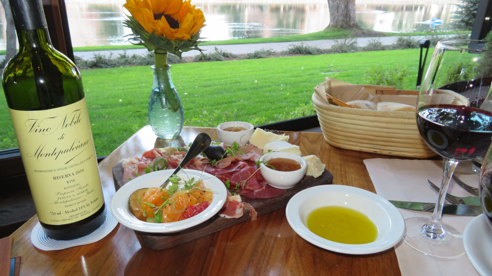 Antipasto at the Ristorante Del Lago of The Broadmoor