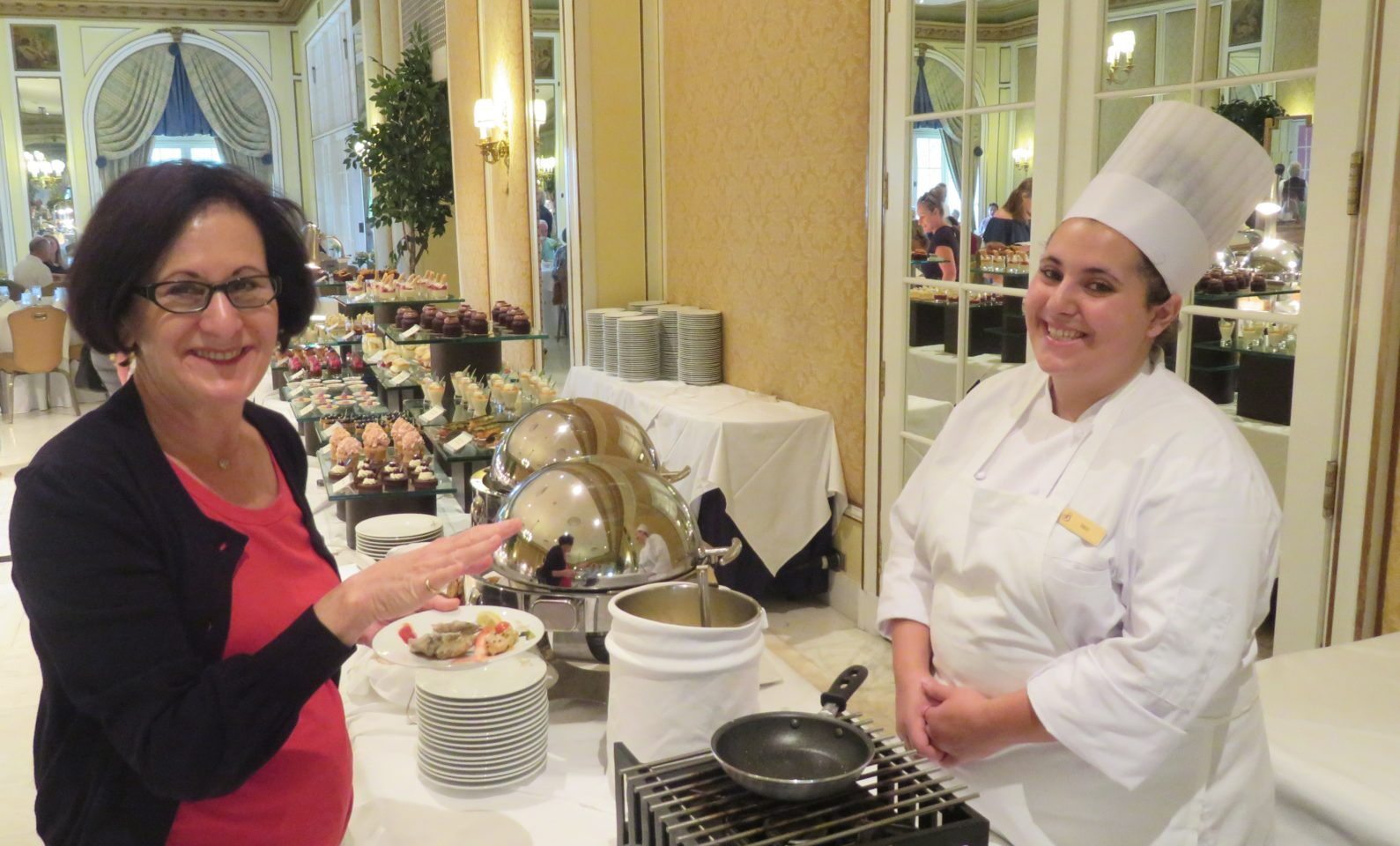 Friendly and smiling staff everywhere you turn at The Broadmoor Resort & Spa