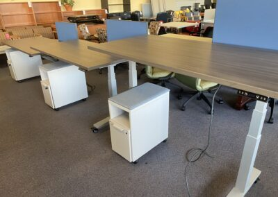 Knoll HAT Desks with Screen