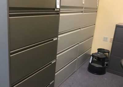 5 Drawer Metal Lateral Files