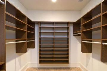 Custom Work Wood Shelf Design