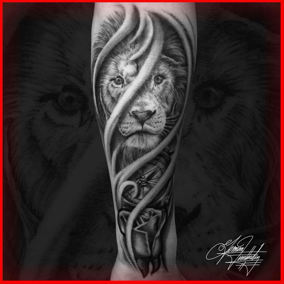 German Fernandez – Tattoo Artist specializing in Custom Designs