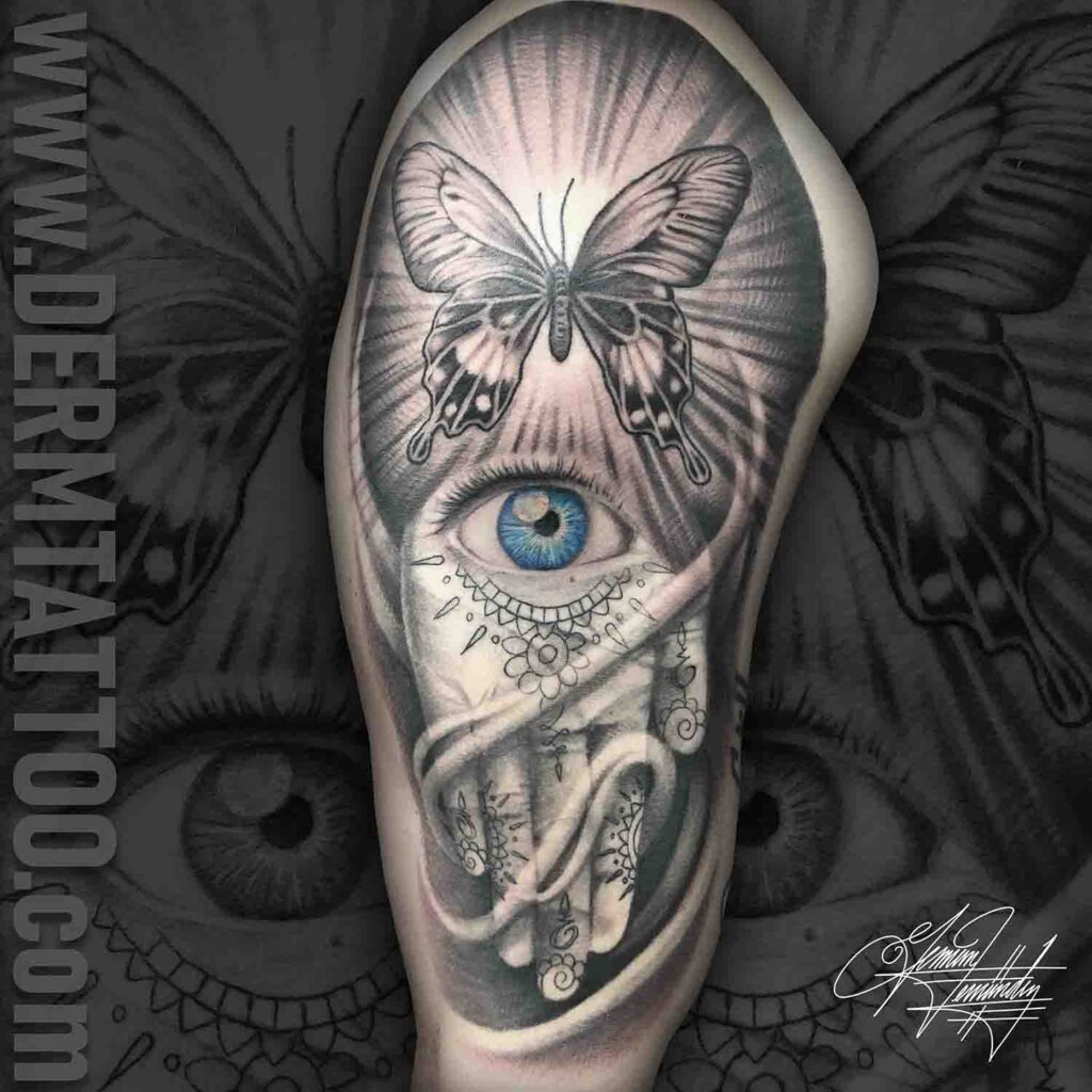 German Fernandez – Tattoo Artist in Littleton, Co Specializing in black and grey realism.
