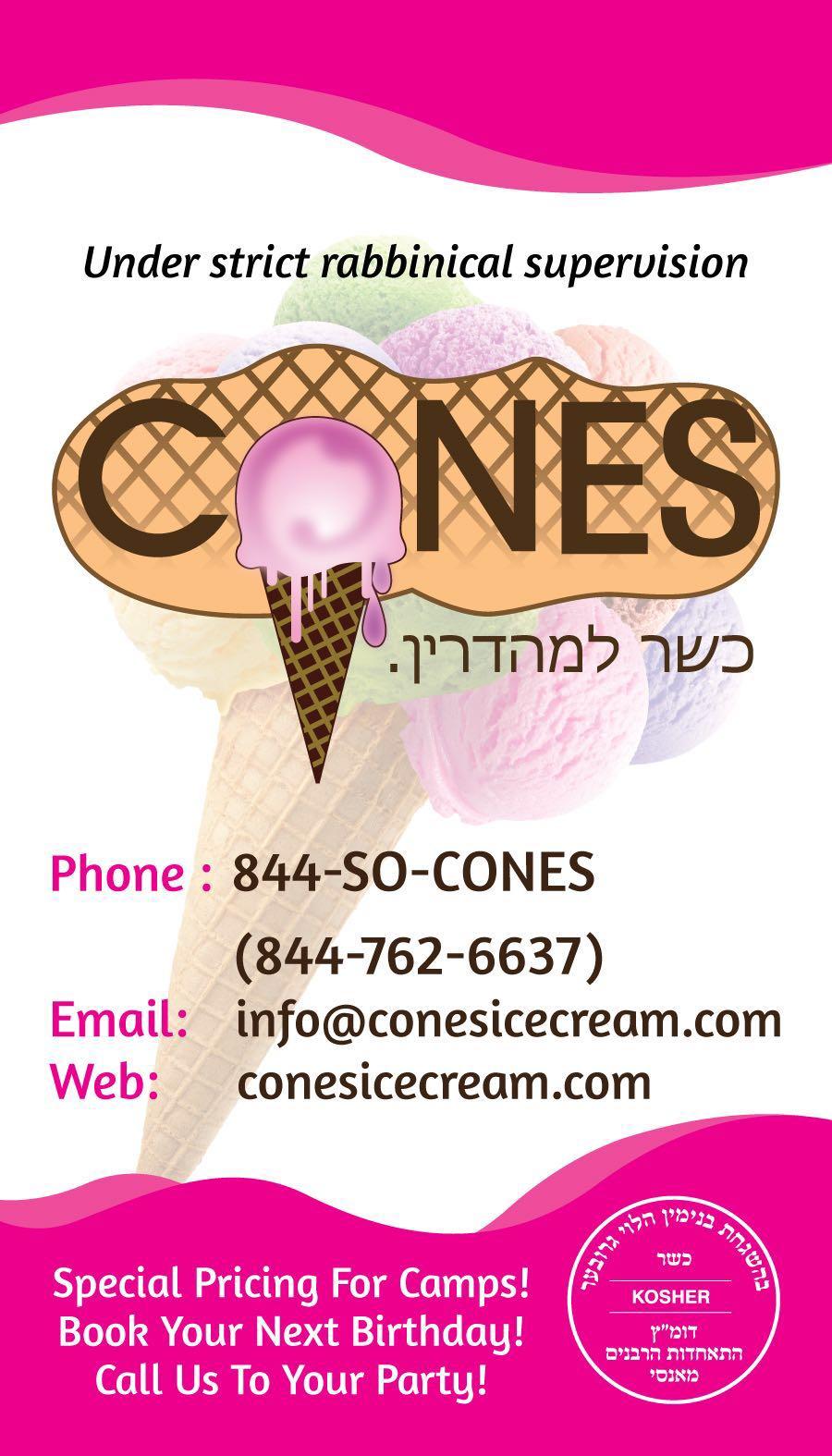Cones banner
