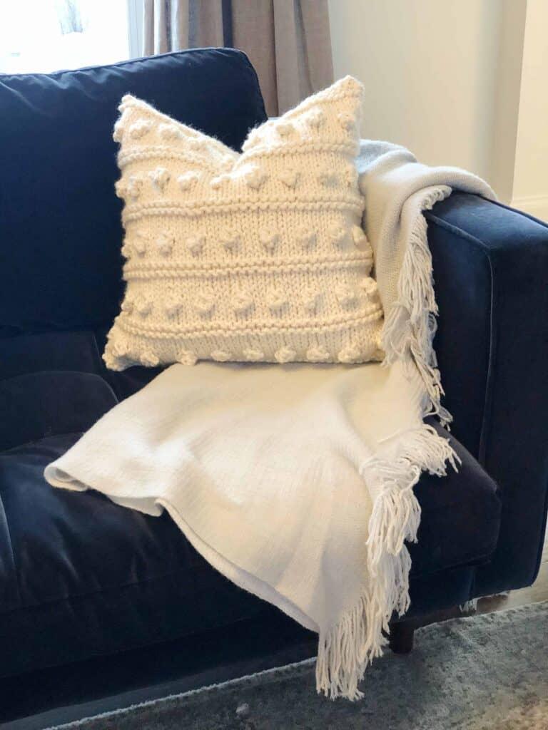 Free Pillow Knitting Pattern