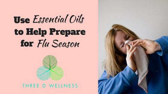Three D Wellness - Functional Medicine - Roswell - Georgia - Essential Oils to Help Prepare for Flu Season