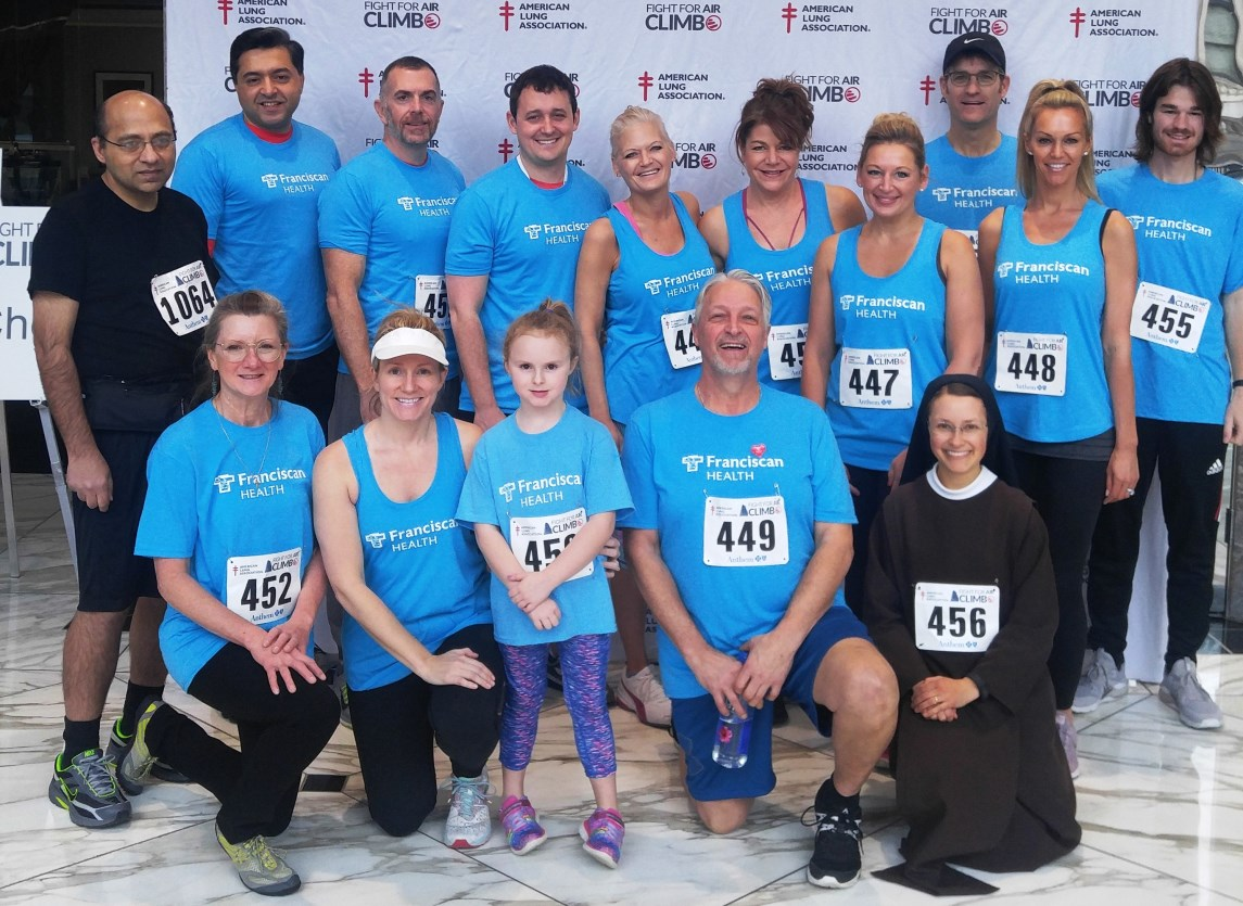 Franciscan Health Indy climbers