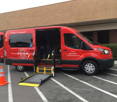 ambulatory van murphy medical transportation inc.