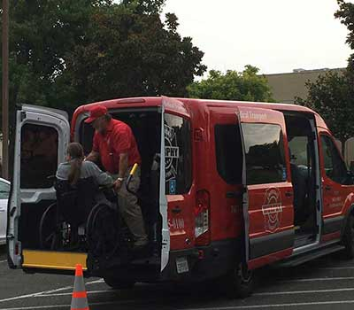 non emergency wheelchair van transport murphy medical transportation inc.