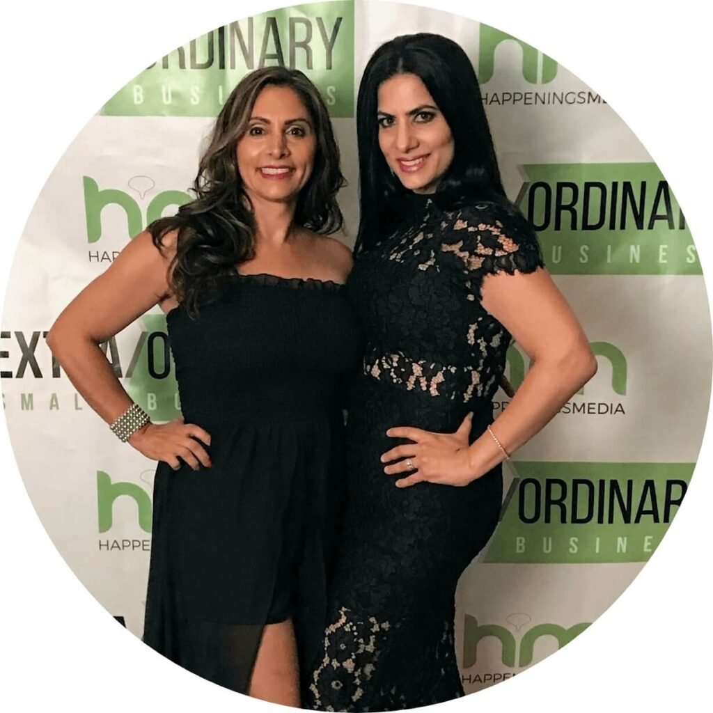 Marissa and Rosetta - owners of Trucco Skin