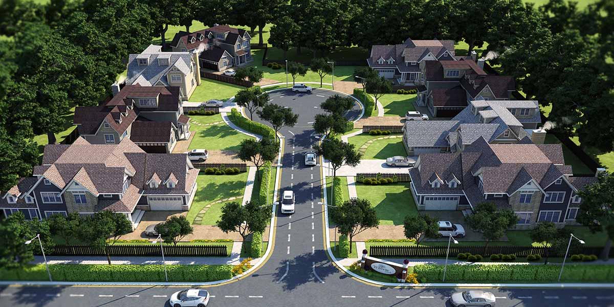 3D Street view rendering