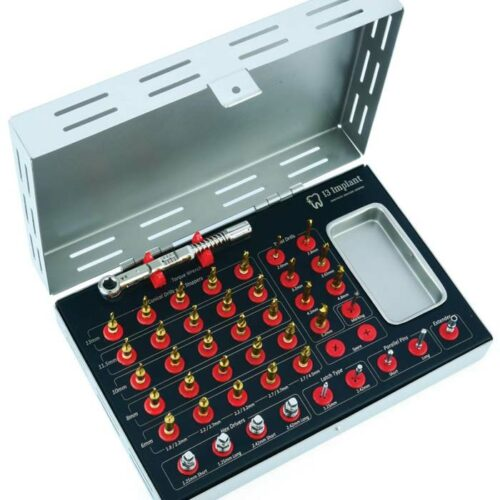 Complete Surgical Kit with Stoppers