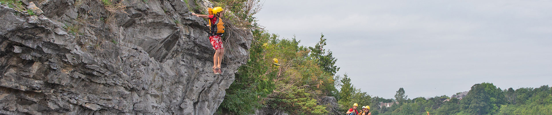 Cliff Jumping in the mystery channel of the Ottawa River