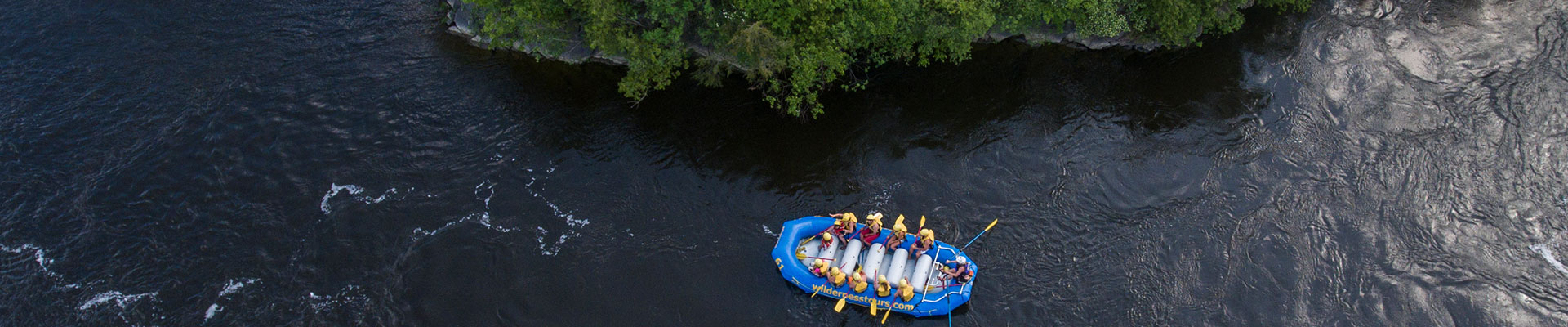 Over the Ottawa River with Ottawa City Rafting Downtown