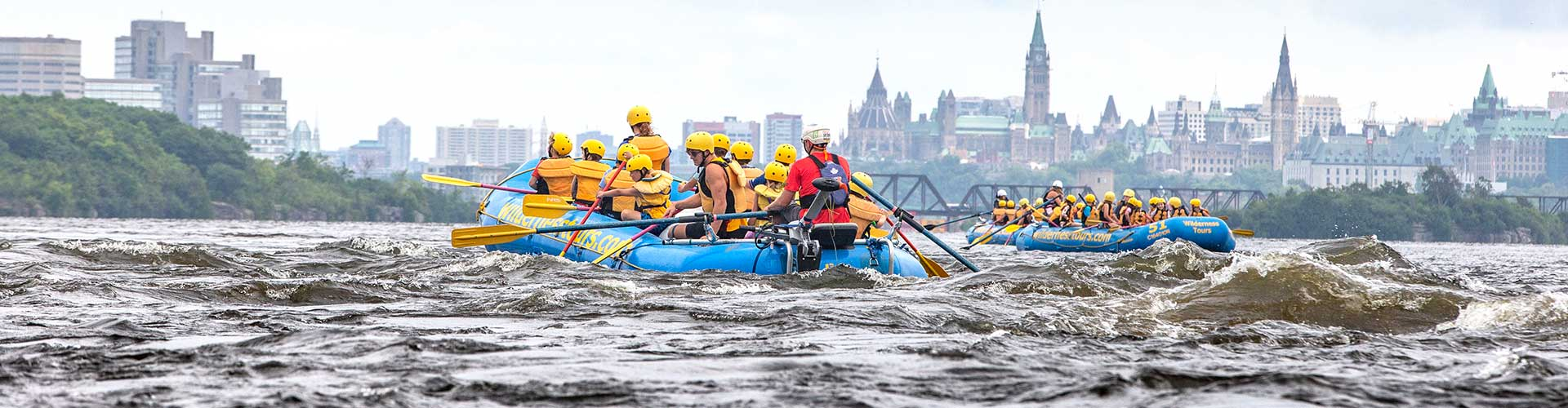 Ottawa City Rafting Downtown Ottawa