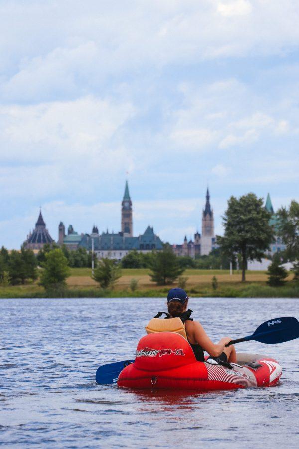 Tubing Downtown Ottawa