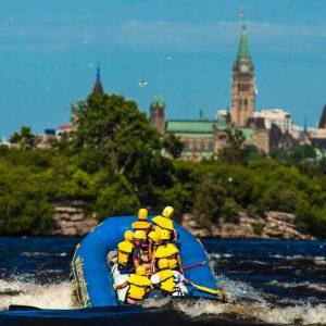 Ottawa City Rafting Downtown Ottawa