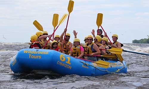 Ottawa River Rafting in the city of Ottawa