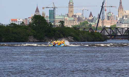 Rafting in Ottawa