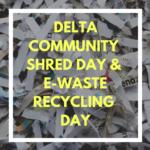 Community Shred Day ad