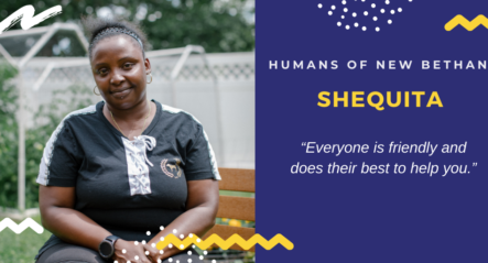 Humans of New Bethany – Shequita & Ms. Dittrich