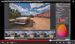 Color-video