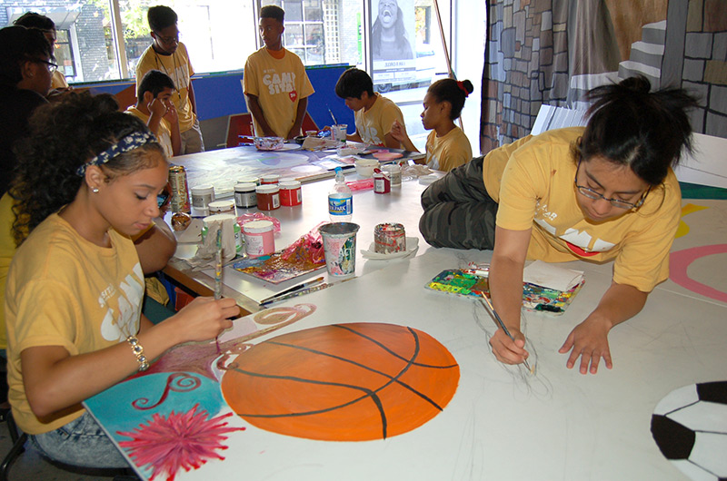 Sitar Arts Center Mural Project