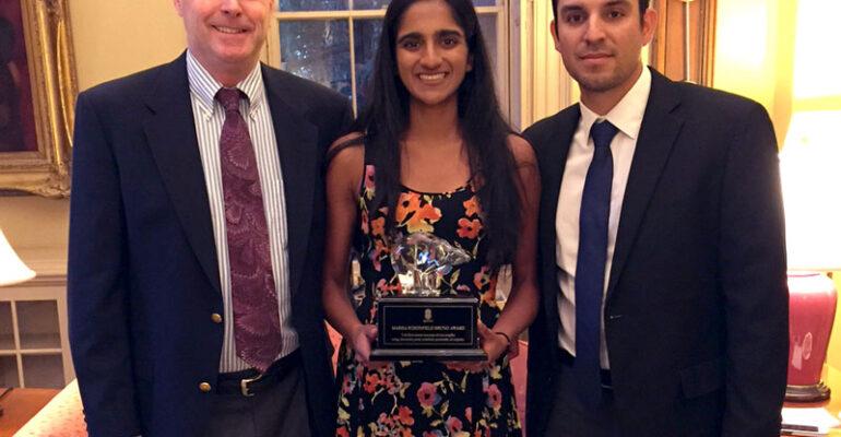 2016 Bruno Award Recipient