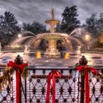 Forsyth Square Fountain in Savannah