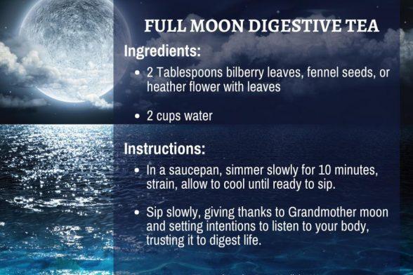 Full Moon Digestive Tea