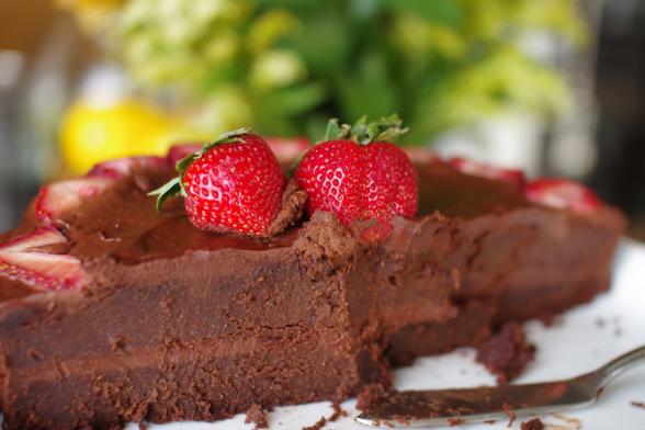 Nigella Lawson's Guinness Chocolate Cake Paleo Option & Sugar-Free
