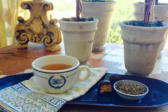 Holy Basil Tea to Boost Mood & Beat Stress