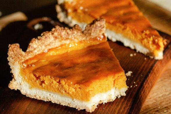 Sweet Squash Pie (Vegan)