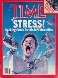 Time magazine's June 6, 1983 cover story on Stress