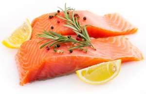 Salmon is delicious and healthy