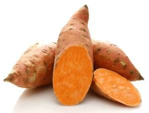 nutritious sweet potatoes