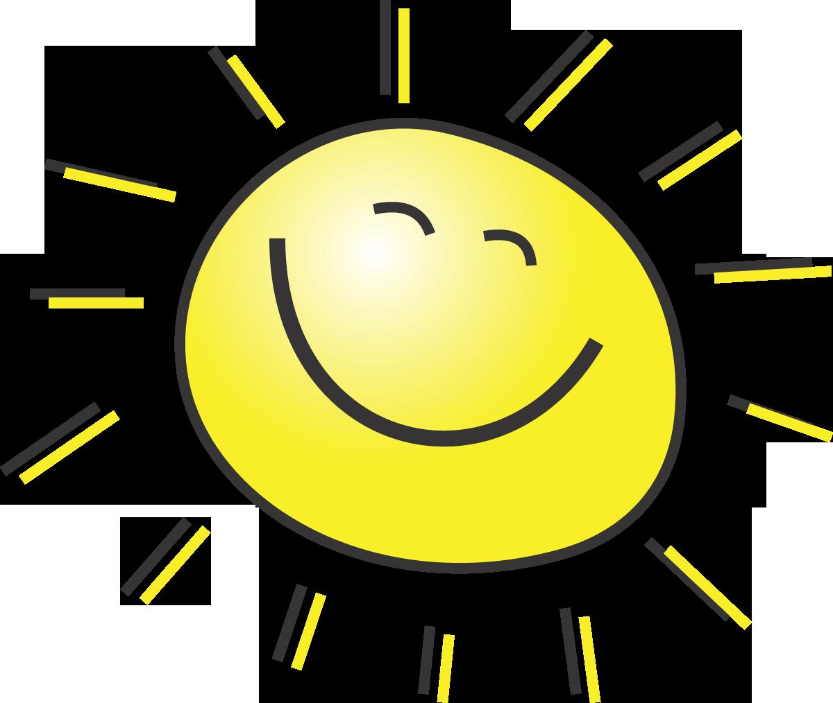 very happy sunshine