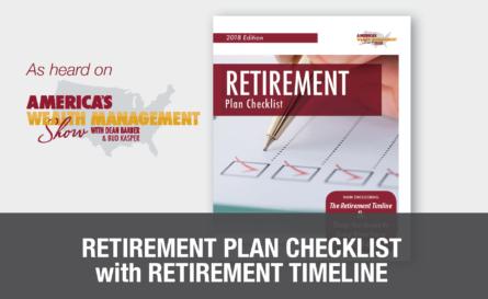 retirement plan checklist