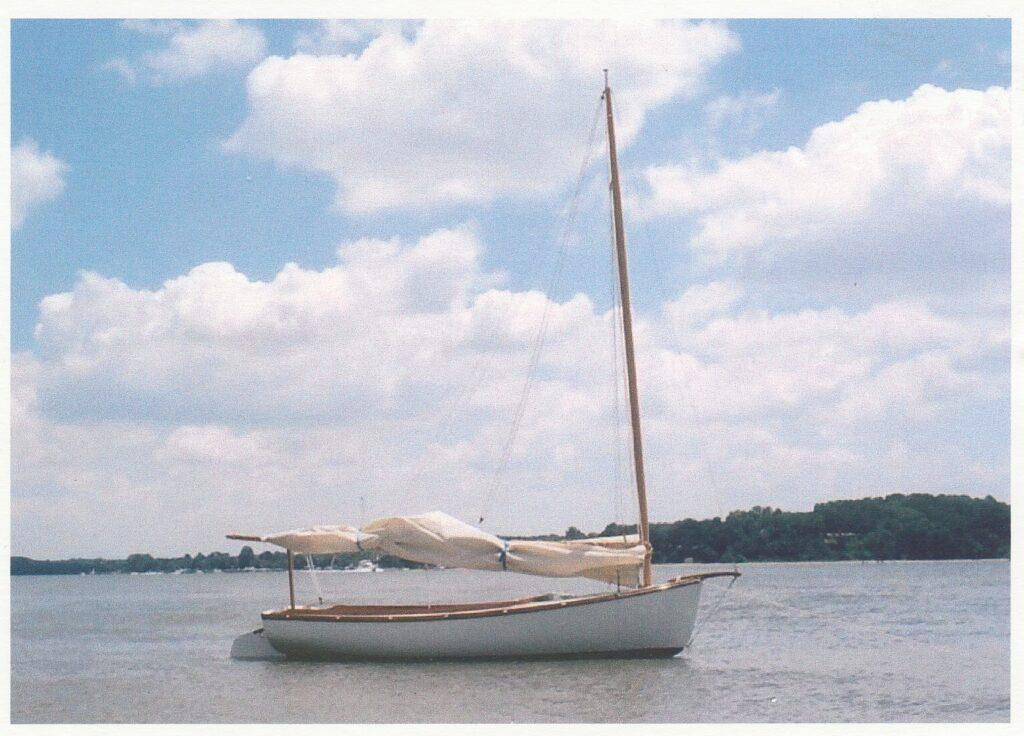 Marsh Cat Jane on the Chesapeake Bay