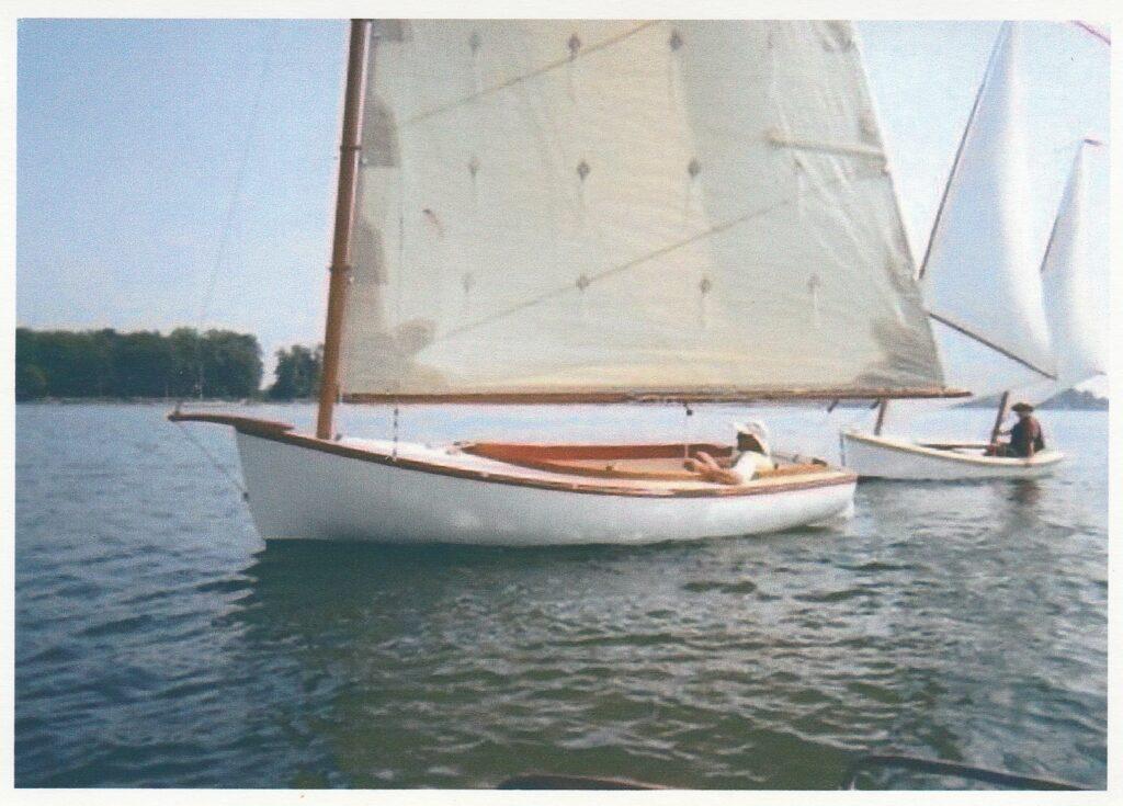 Marsh Cat Jane sailing