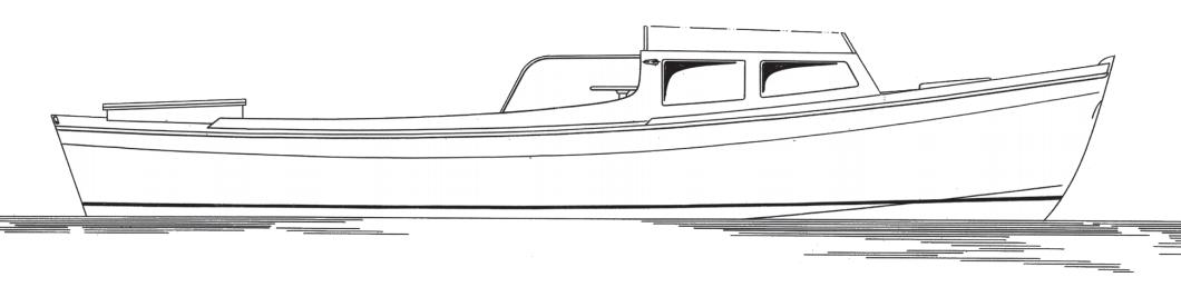 22' power skiff