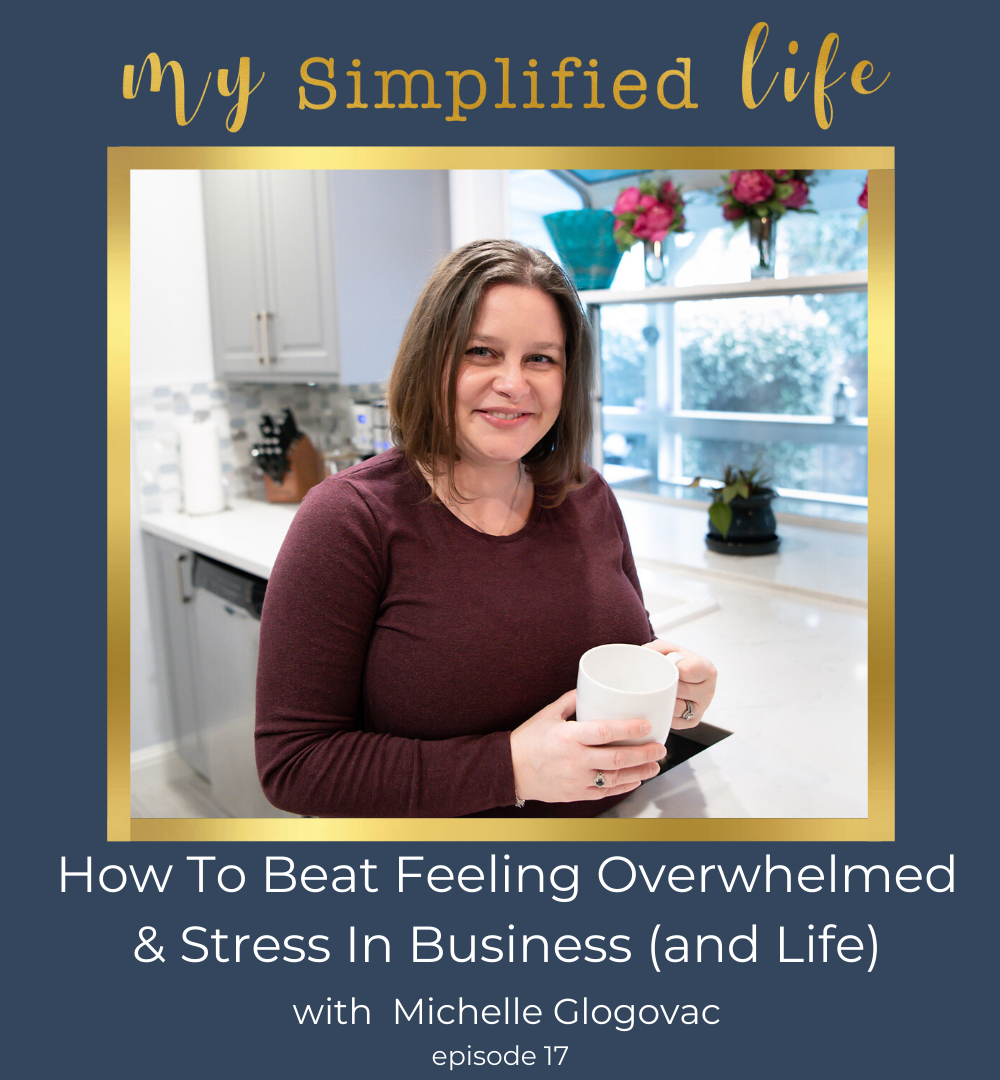 how to beat stress & overwhelm in business