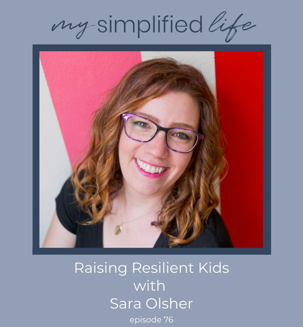 raising resilient children sara olsher
