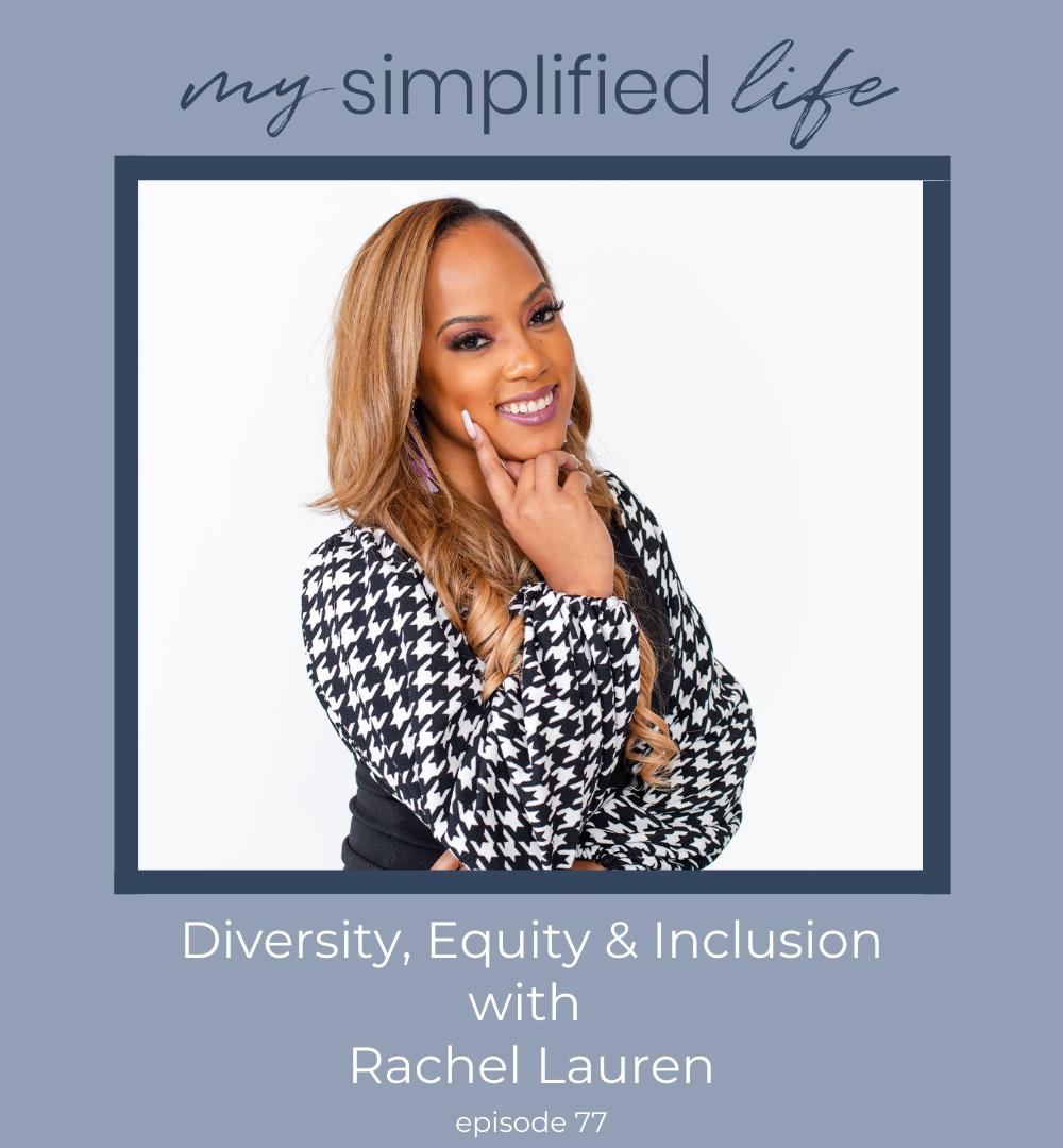 diversity equity inclusion rachel lauren