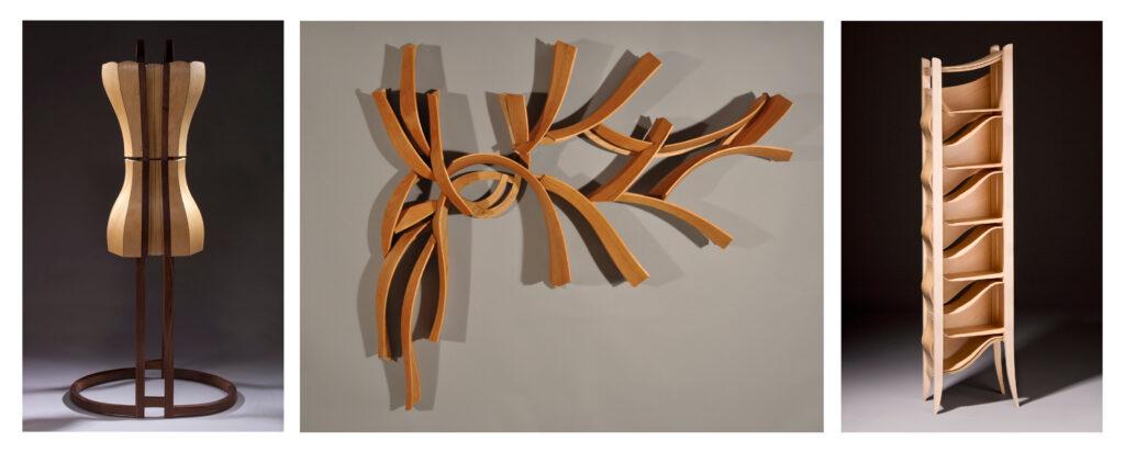 sculpure by Leah Woods